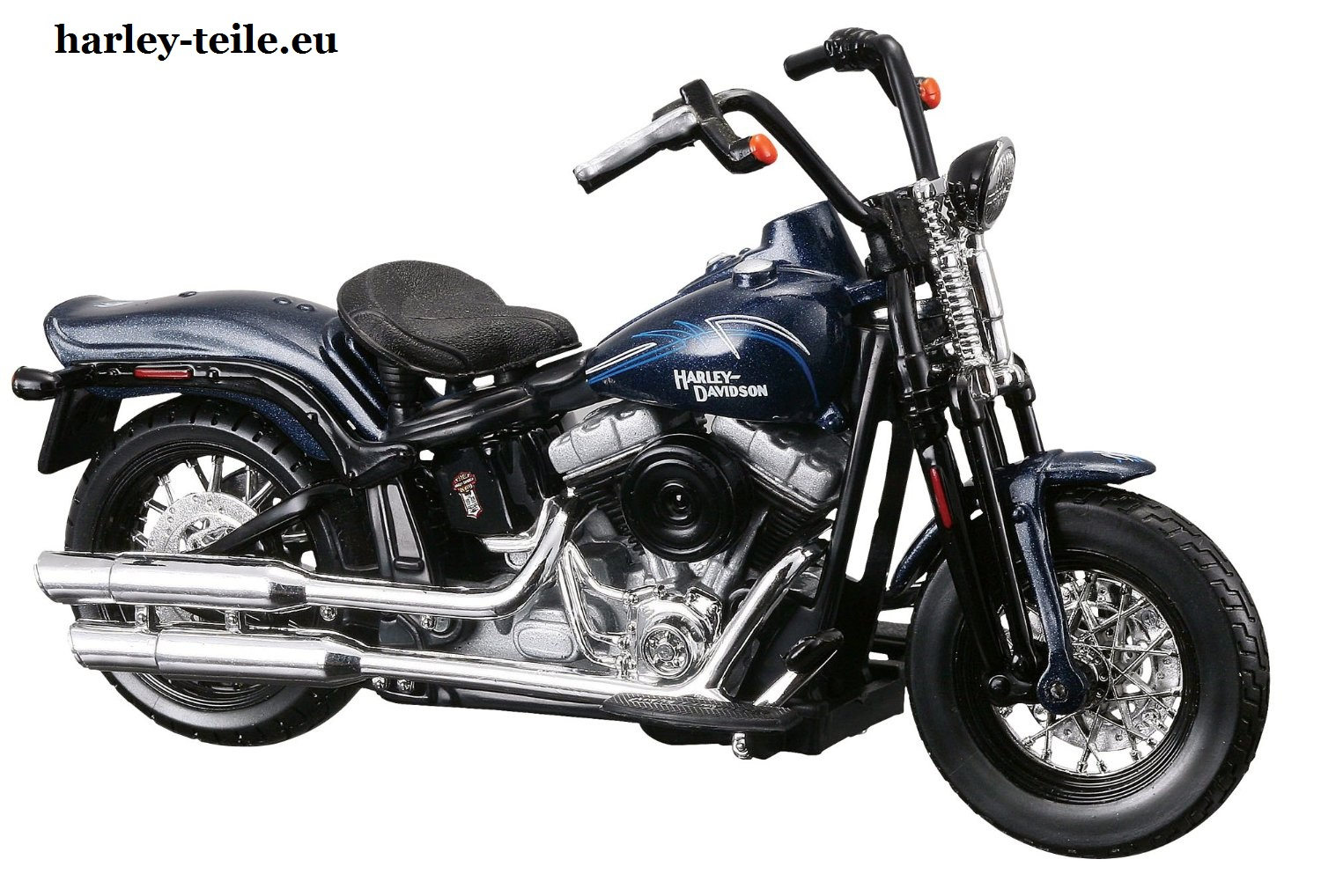 harley davidson 2008 flstb cross bones 1 18 maisto. Black Bedroom Furniture Sets. Home Design Ideas